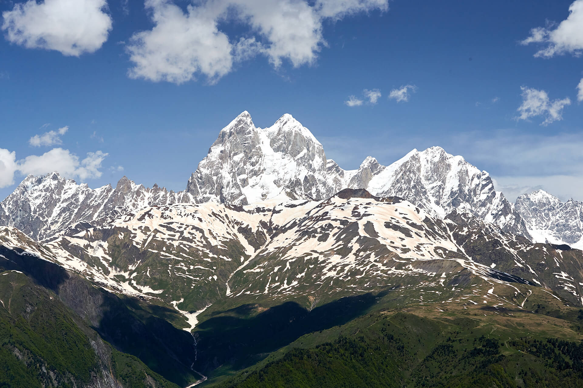 Four day hiking in Svaneti region