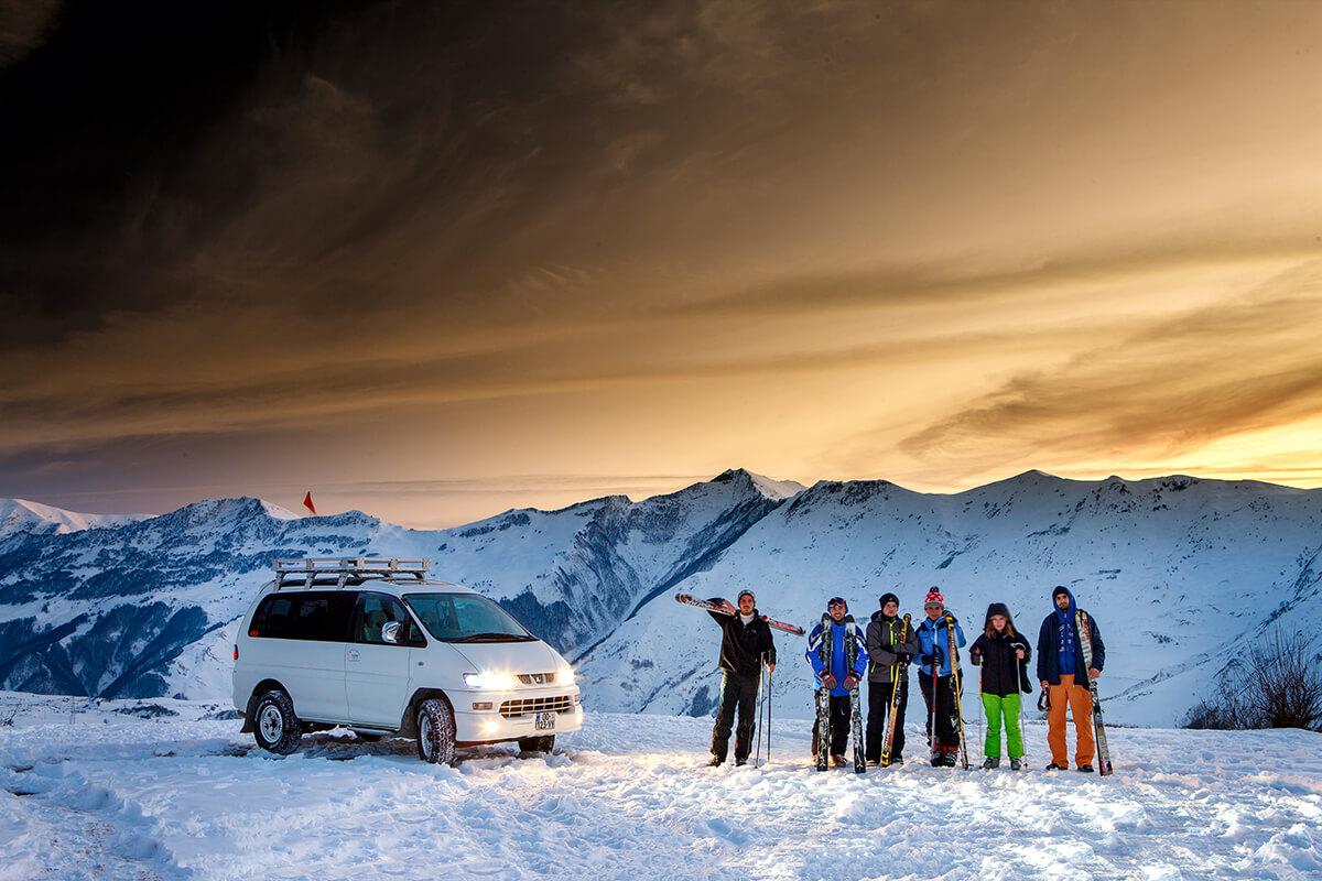 All inclusive ski tour to Gudauri