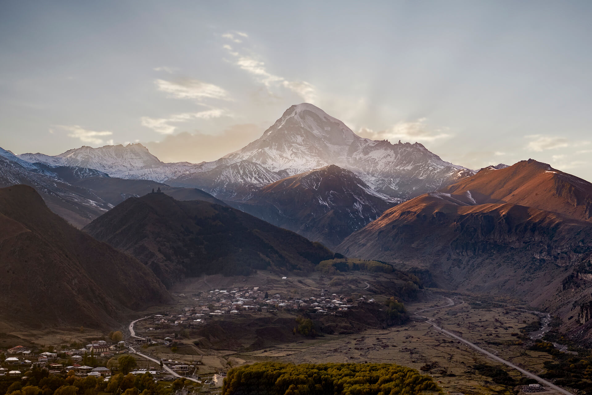 One day tour to Kazbegi in the Greater Caucasus